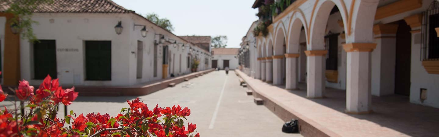A street in Mompox